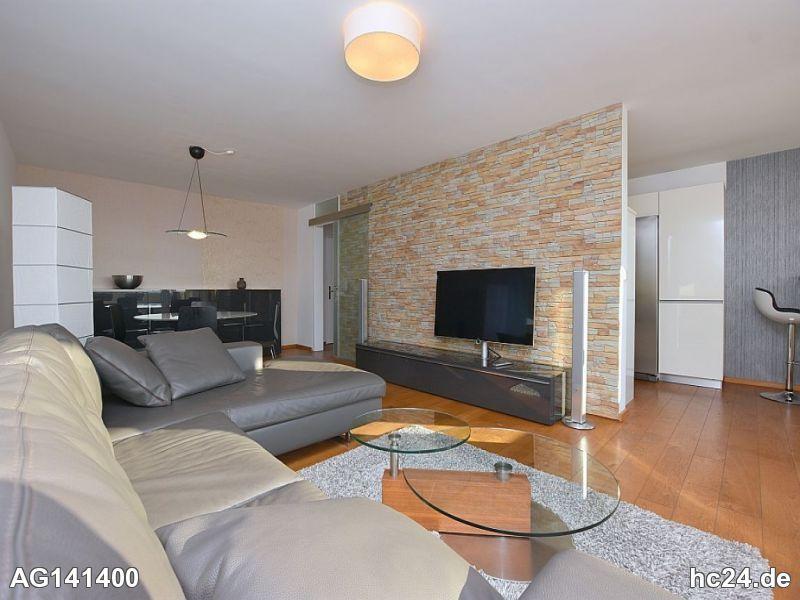 Modern möblierte Wohnung mit Internet und Reinigungsservice in Stuttgart Hoffeld